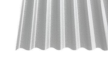 Acryl Wellplatten Profilplatten Sinus 7618 Wabe Struktur Klar 3 Mm 5000 X 1045 X 3 Mm