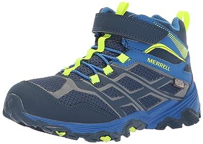 406f327581b Merrell Kids' Moab FST Mid a/C WTRPF Hiking Shoe