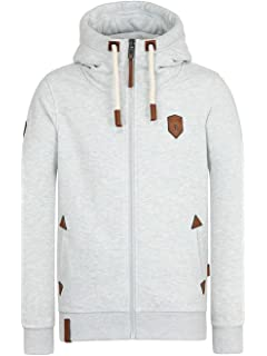 Amazon.com   Naketano Men s Zipped Jacket Muzzy Spitzbubi Indigo ... a965edc431