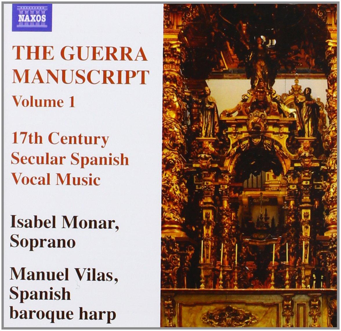Manuscrito Guerra Arpa Barroca Española: Manuel Vilas, Isabel Monar: Amazon.es: Música