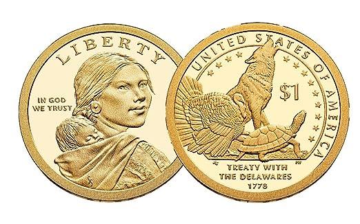 2013-S $1 Proof Sacagawea Native American Dollar