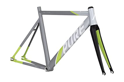 Amazon.com : Pure Cycles Keirin Pro Track Triple-Butted 6061 ...