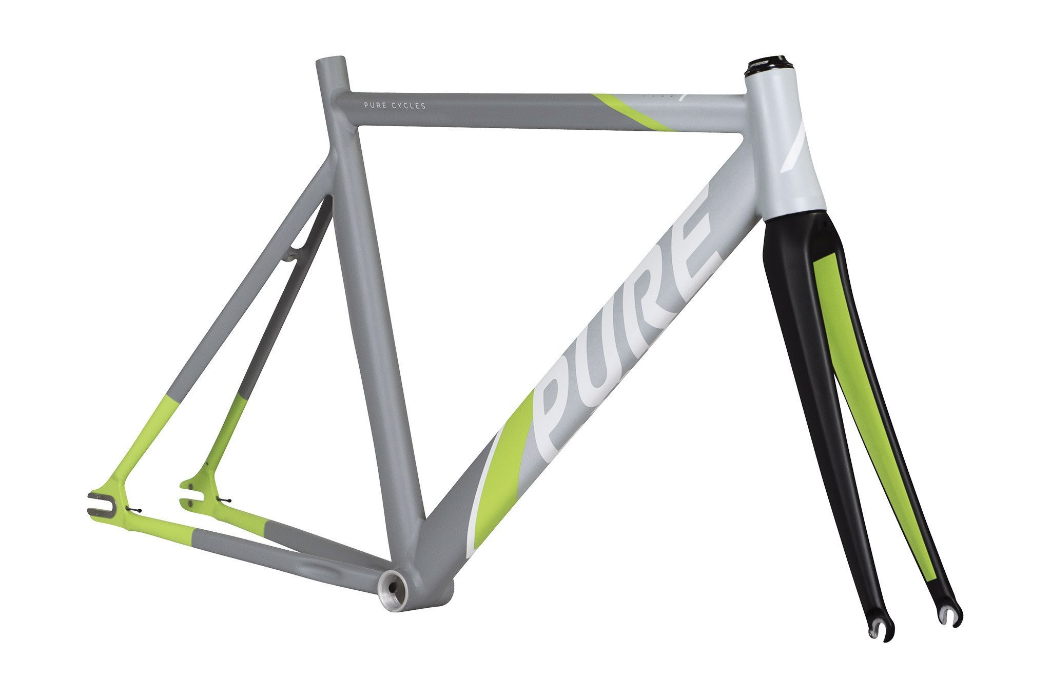 Pure Cycles Keirin Pro Track Triple Butted 6061 Aluminum Bike Frameset