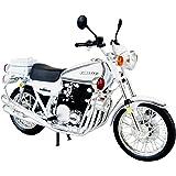 青島文化教材社 スカイネット 1/12 完成品バイク Kawasaki 750RS-P (Z2白バイ)