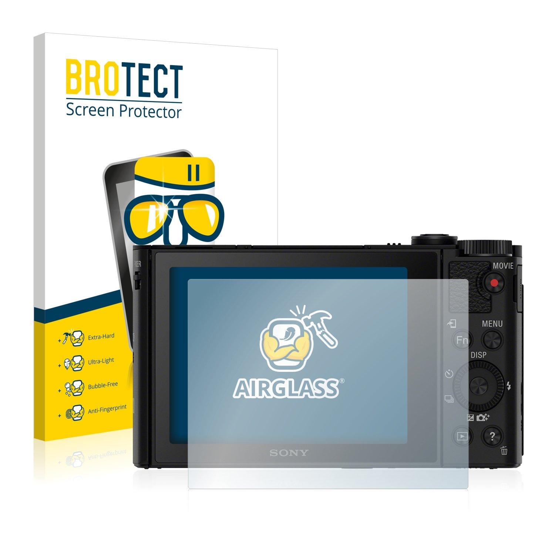BROTECT Protection Verre pour Sony Cyber-Shot DSC-HX90V Film Protection Ecran Protecteur Vitre - AirGlass Bedifol