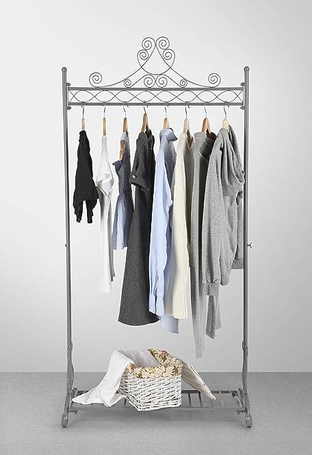 Percheros de metal para ropa exhibidor niveles rack - Burros para ropa ...