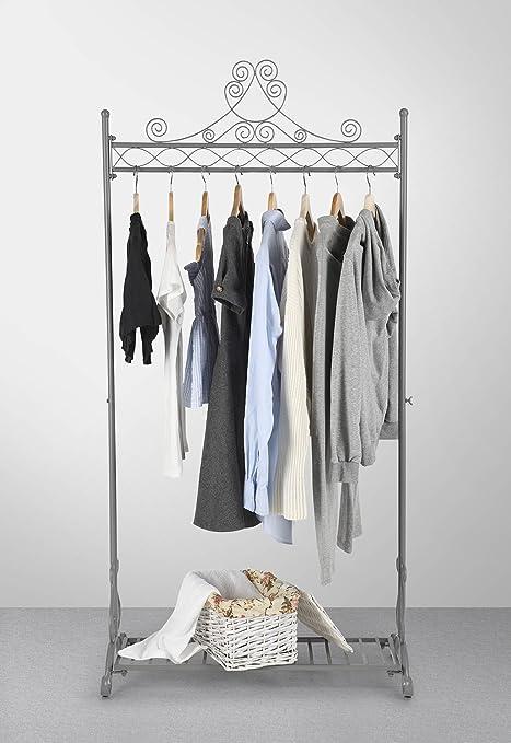 1d3093daa82c Amazon.com: NEUN WELTEN Chic Garment Rack Metal Hanging Clothes ...
