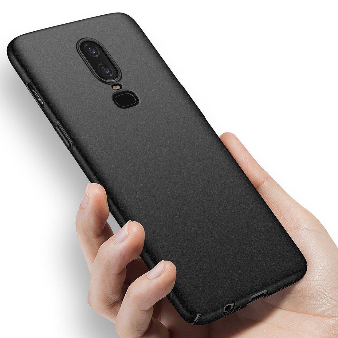 ✔ Ultra Slim Coque Etui Housse pour OnePlus 6 Fine Noir KoldKase Coque OnePlus 6 L/ég/ère ✔ Haute Pr/écision ✔ Solide ✔ Meilleure Garantie