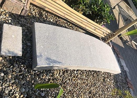 Puente de jardín de China (190 cm), piedra de granito, decoración de jardín asiática: Amazon.es: Jardín