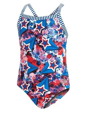 c5ef978c259 Amazon.com: Dolfin Girl's Uglies Prints One Piece Swimsuit: Clothing