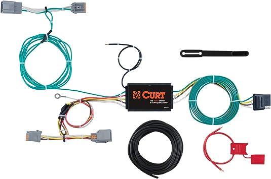 Amazon.com: CURT 56287 Vehicle-Side Custom 4-Pin Trailer Wiring Harness for  Select Volvo V60: AutomotiveAmazon.com