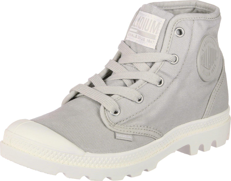 Palladium Damen Blau Pampa Hi Hohe Sneaker, Blau Damen Grau 0f05ca