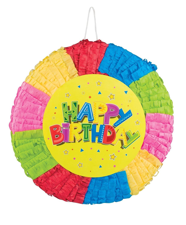 Boland 30928 - Piñata Happy Birthday: Amazon.es: Juguetes y ...