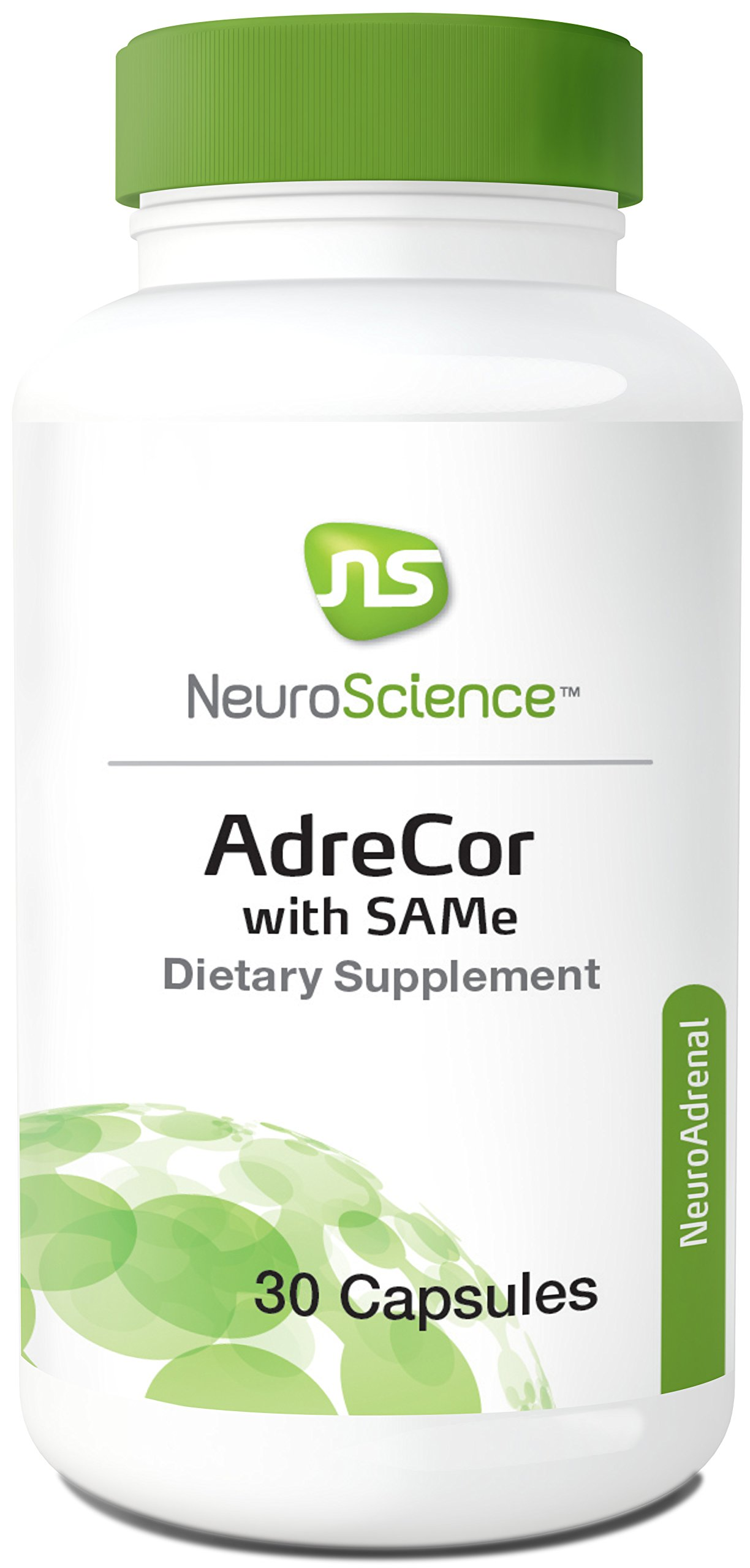 NeuroScience AdreCor with Same - Mood and Adrenal Support Complex with Rhodiola and Histidine (30 Capsules)