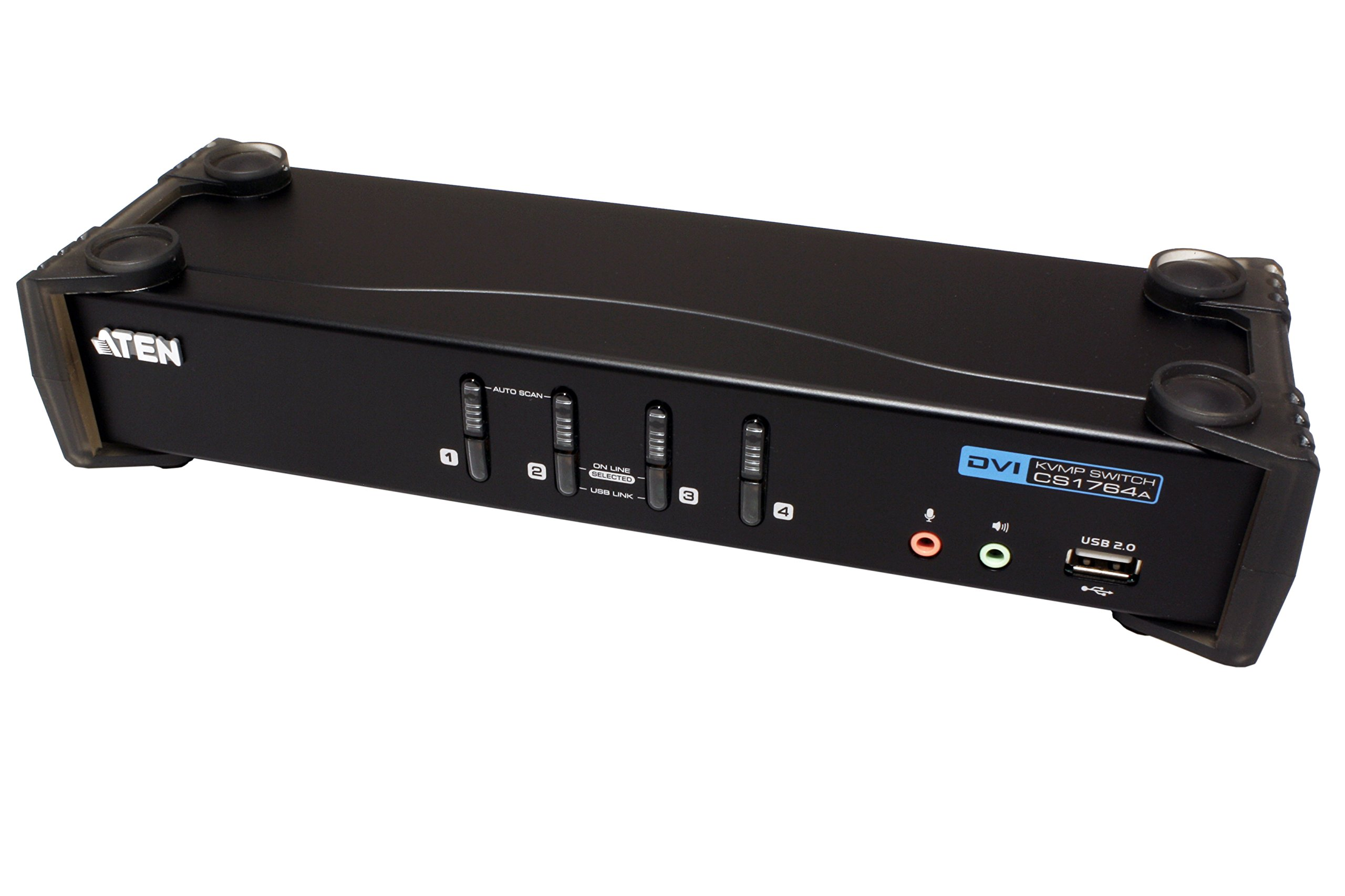 ATEN 4-Port USB 2.0 DVI KVMP Switch (CS1764A) by ATEN (Image #3)