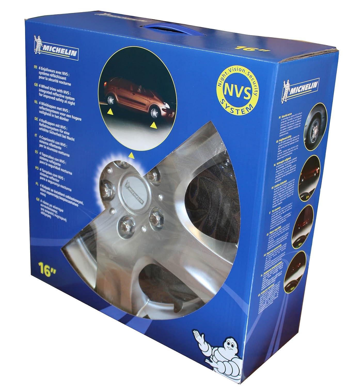 15 Michelin 009002 Box 4 pezzi Copricerchi KT942