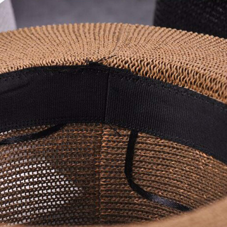 Caps Hats with Wide Birm Women Straw Vintage Hat Floppy Sun Beach Church Cap