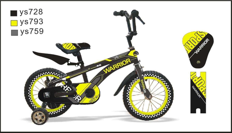 CTBIKES WARRIOR BMX KIDS BIKES Grün Available in Größe 14