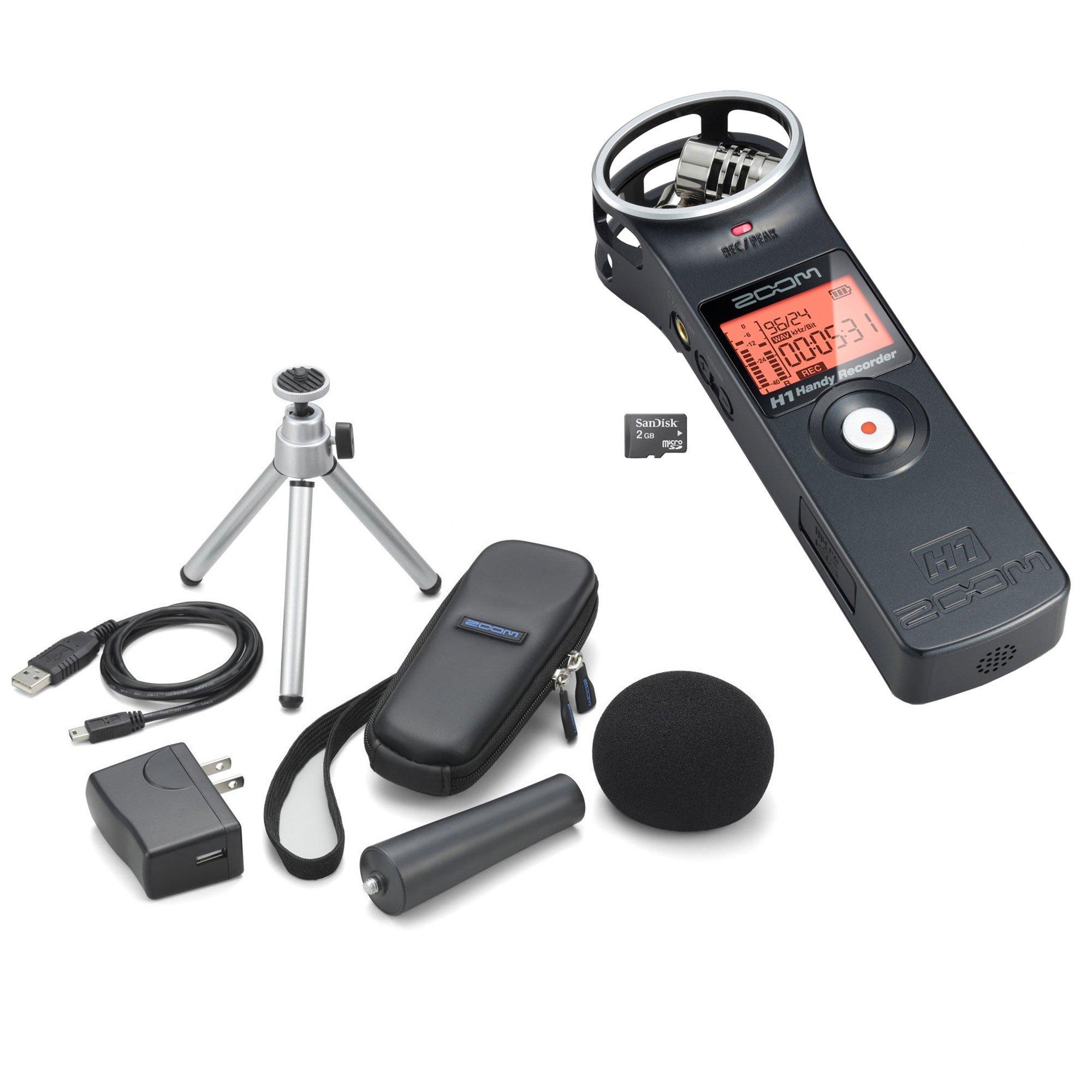Zoom H1 Handy Recorder Plus Accessory Kit