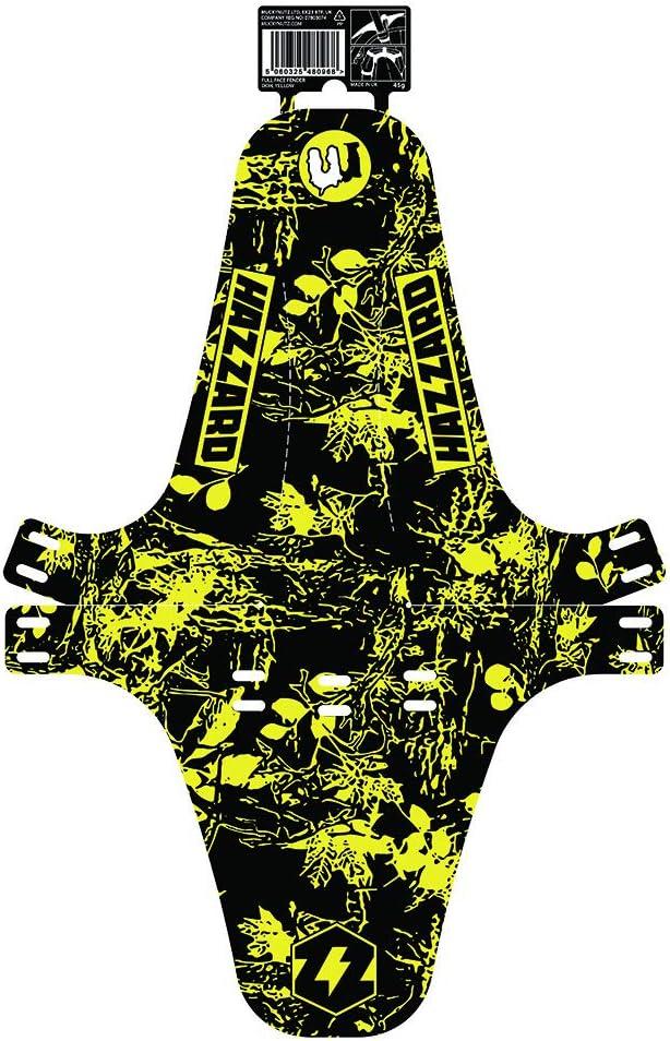 Full Face Fender Dudes of Hazzard Mucky Nutz Yellow