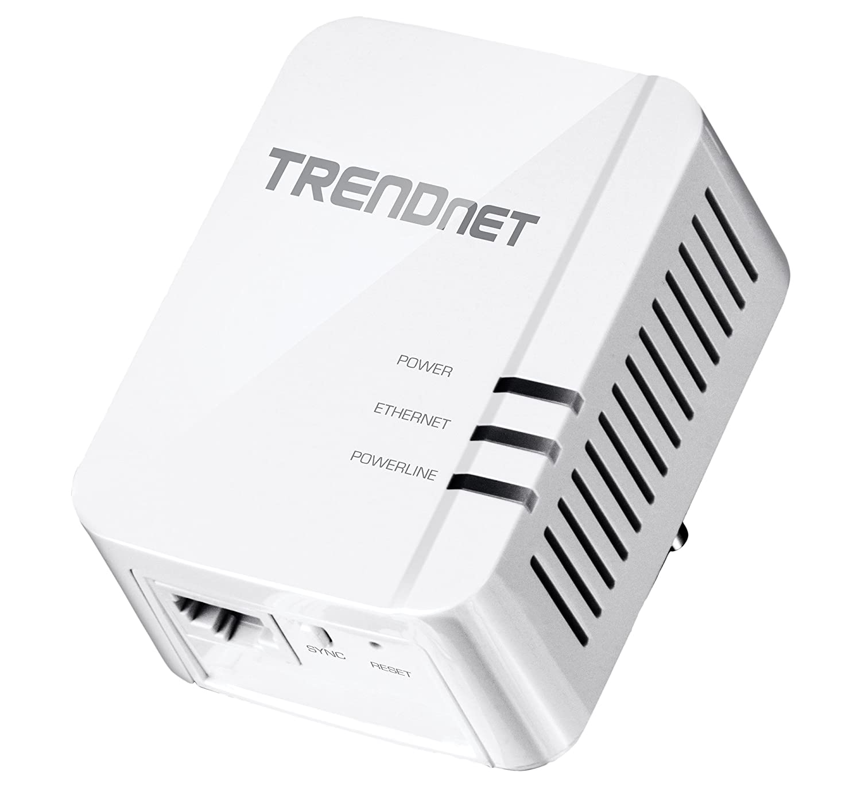TRENDnet TPL E Adaptador AV con puerto Gigabit conectar y listo