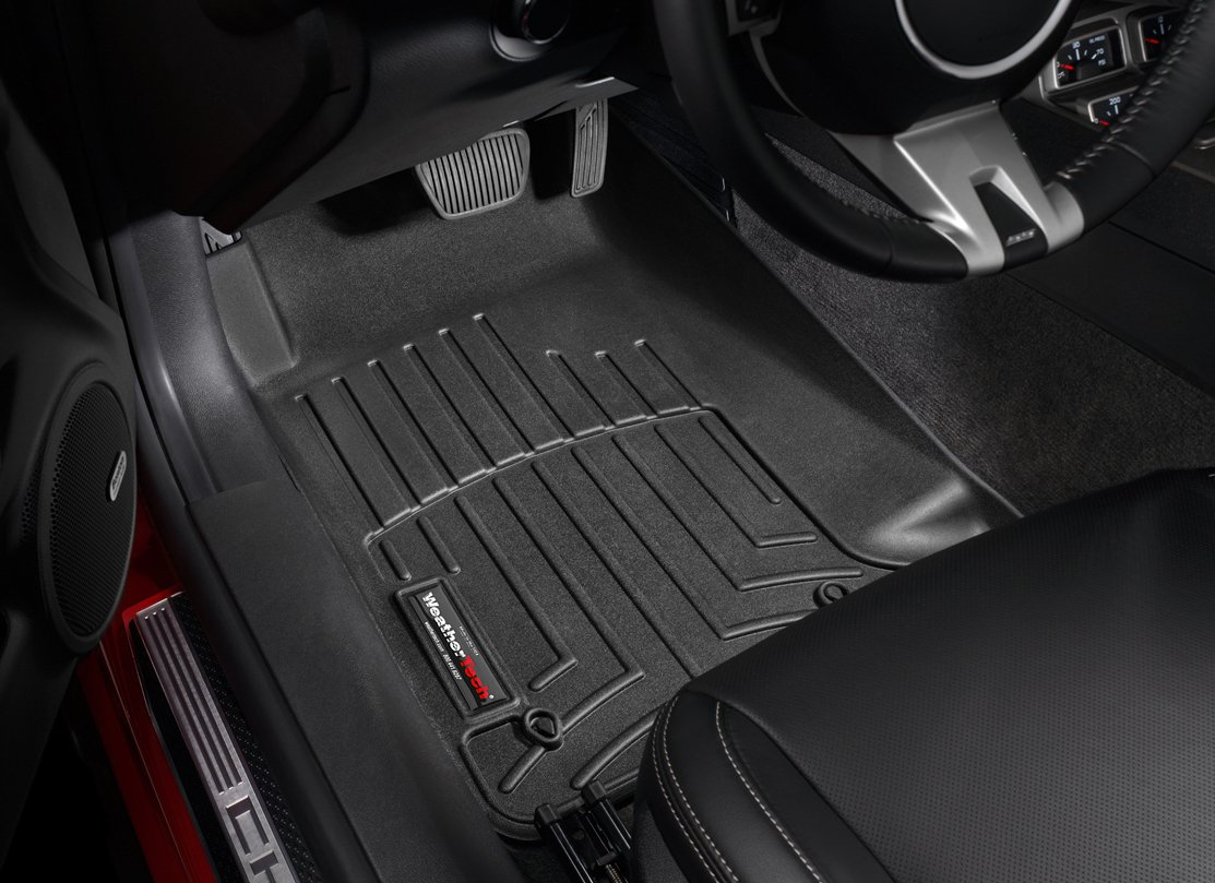 row for tucson floorliner weathertech black mat floor hyundai itm mats