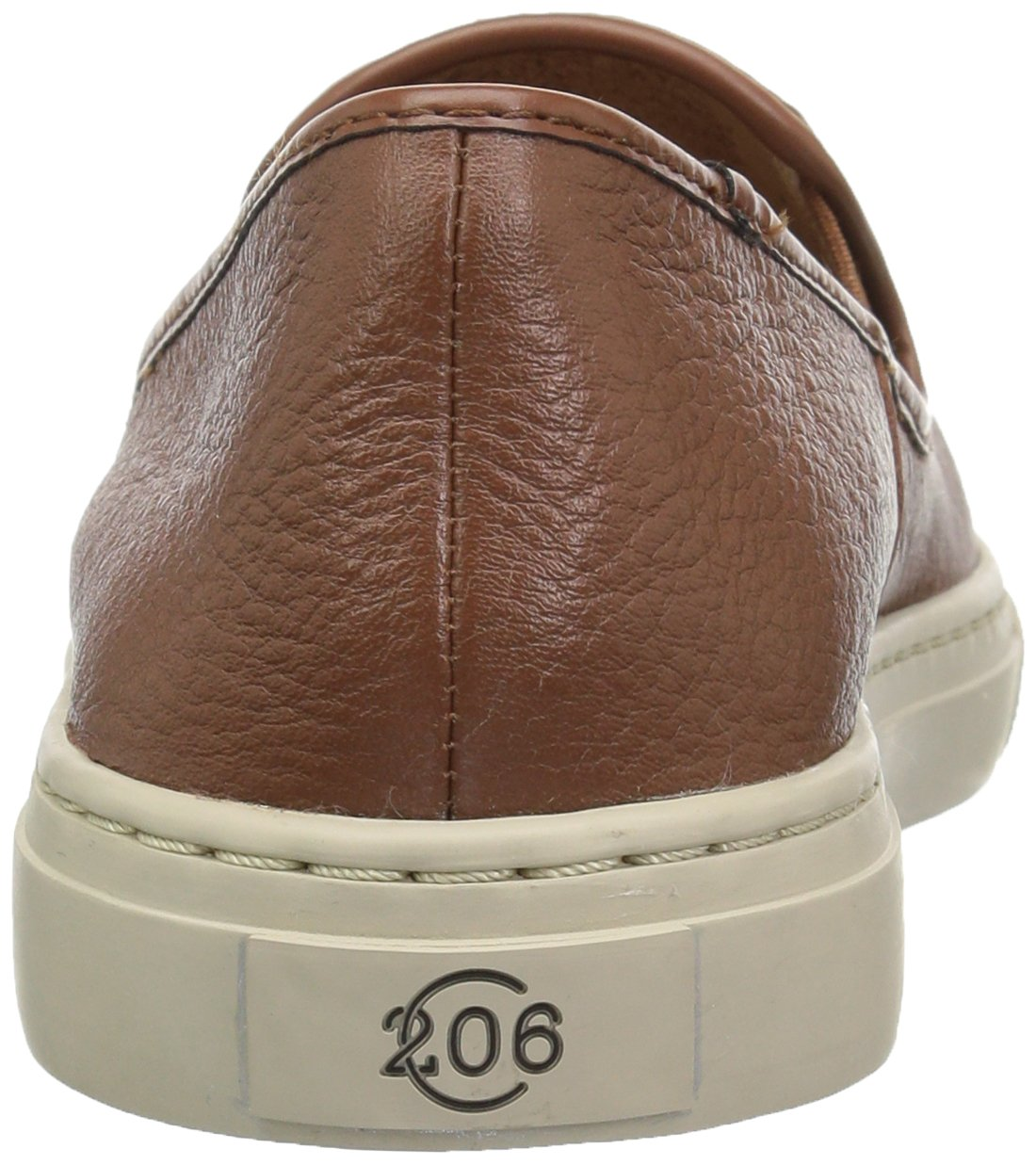 206 Collective Women's Cooper Perforated Slip-on Fashion Sneaker, Cognac Leather, 8.5 B US by 206 Collective (Image #2)