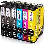 OfficeWorld Ersatz für Epson 29 29XL Druckerpatronen Kompatibel mit Epson Expression Home XP-342 XP-345 XP-245 XP-442 XP-445 XP-247 XP-332 XP-235