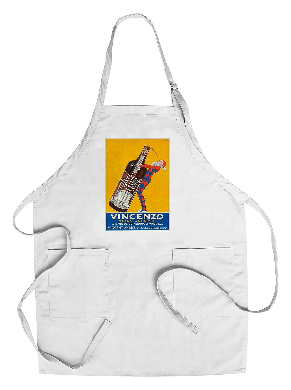 Vincenzoヴィンテージポスター(アーティスト: Stall )フランスC。1925 Chef's Apron LANT-63723-AP B018NOK88S  Chef's Apron