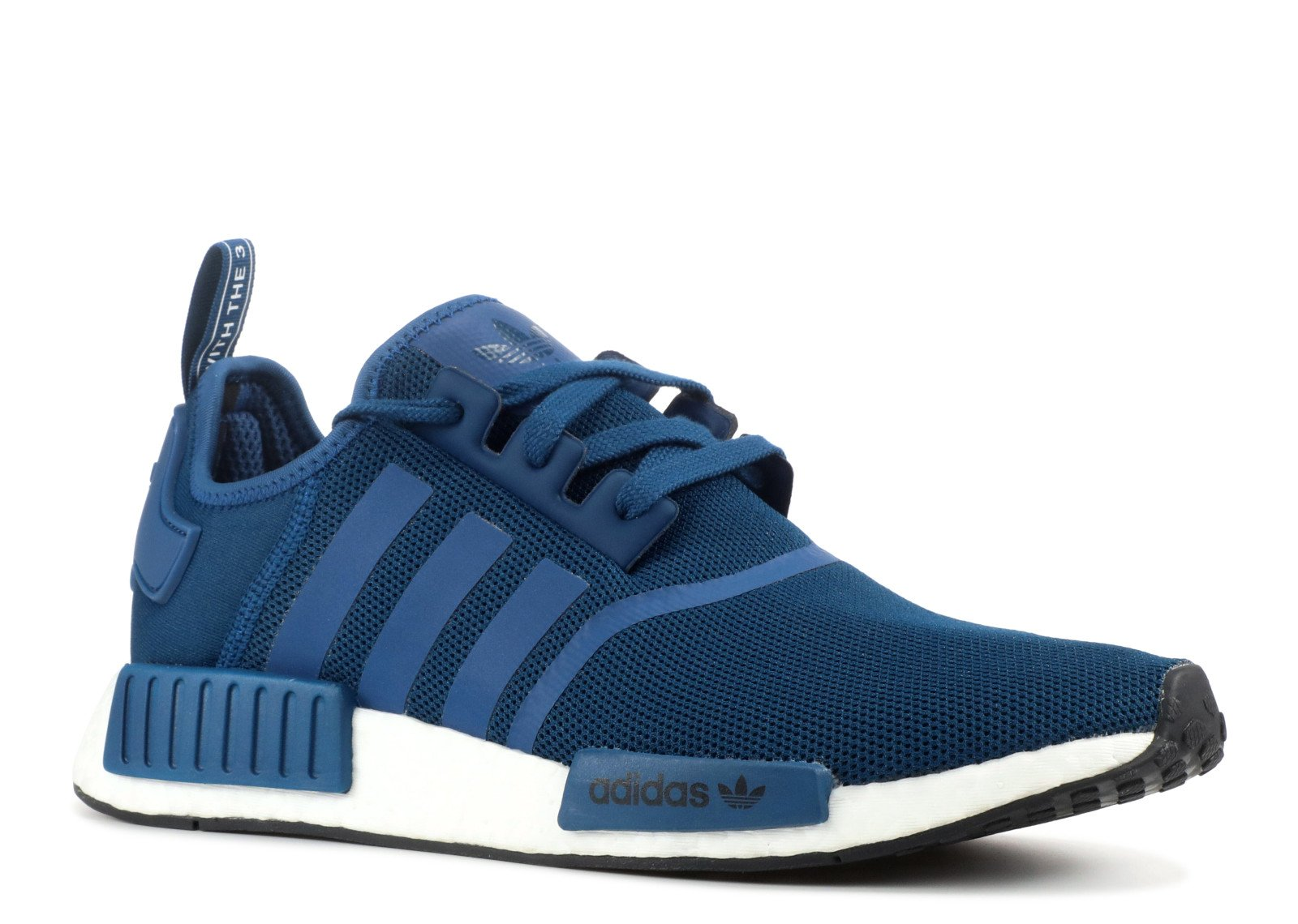 b23562af0 Galleon - Adidas Mens Originals NMD R1 Shoes Blue White BY3016 (9 D(M) US)
