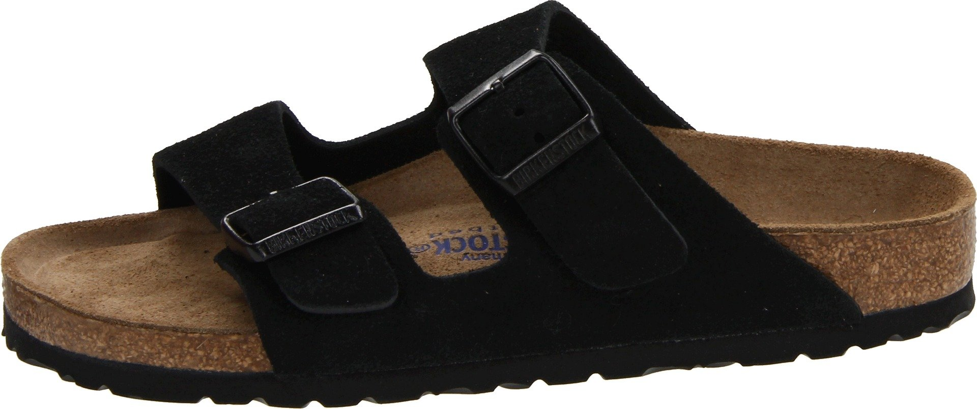 da25c4596521 Birkenstock Unisex Arizona Black Suede Sandals - 43 M EU 10-10.5 B(M) US  Men - N951323 R951321   Mules   Clogs   Clothing