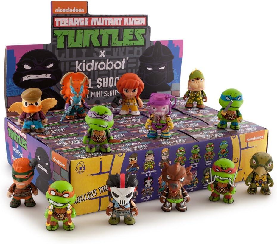 TMNT Teenage Mutant Ninja Turtles Series 2 Shell Shock Brand New Display Case 20 pcs