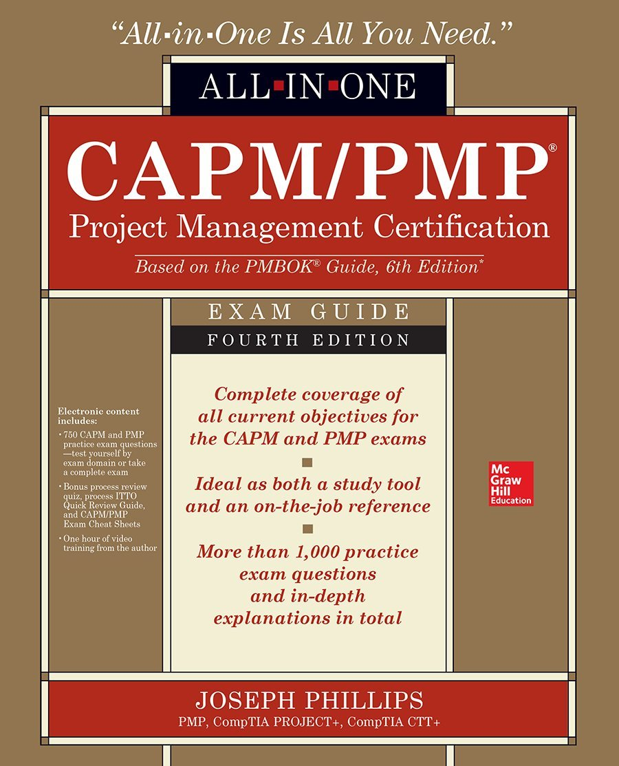 Amazon capmpmp project management certification all in one amazon capmpmp project management certification all in one exam guide fourth edition 9781259861628 joseph phillips books xflitez Choice Image
