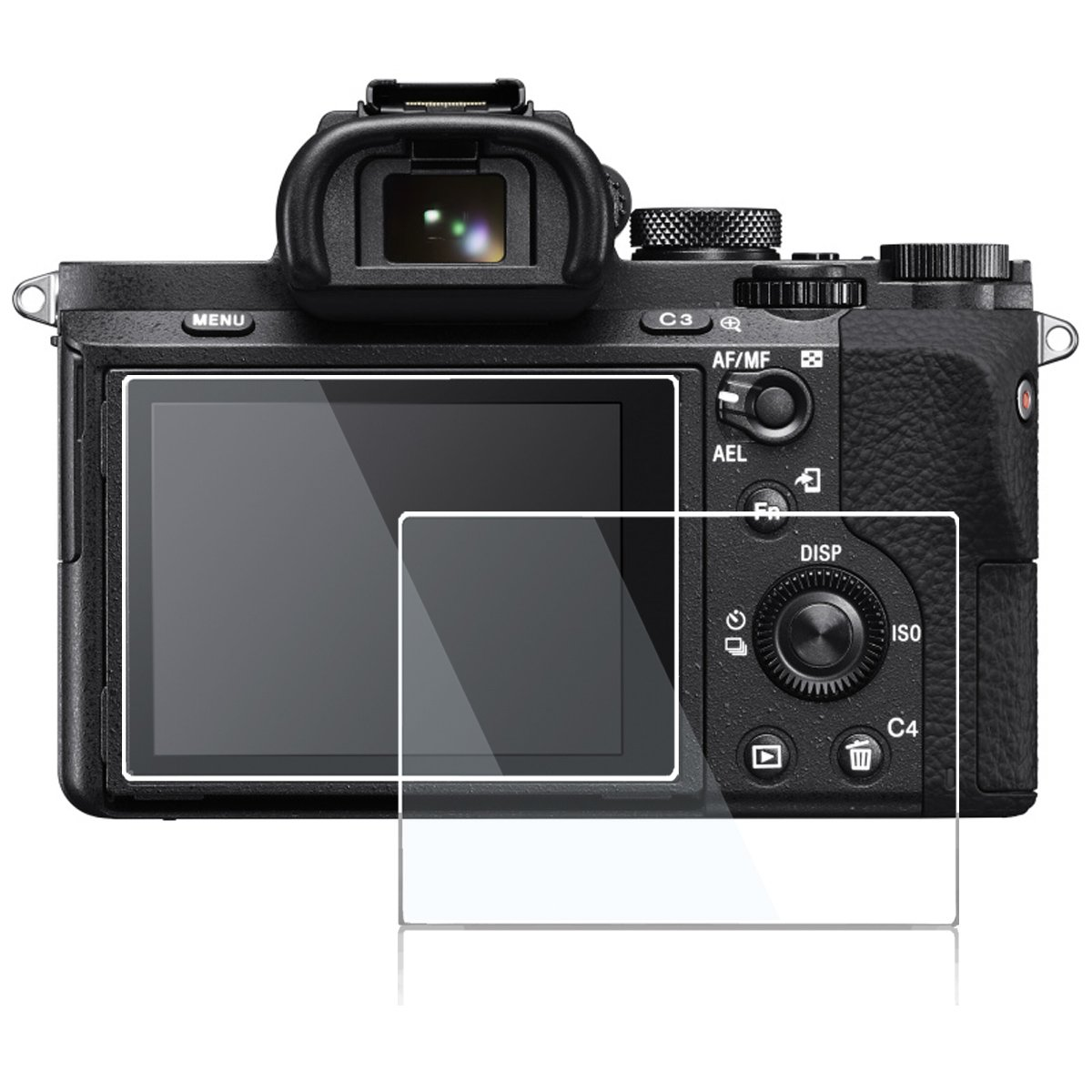 Pantalla LCD plástico de vidrio de protección para Sony CyberShot dsc-rx10 II