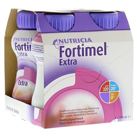 fortimel extra de frutos del bosque sabor, 4 x 200 ml