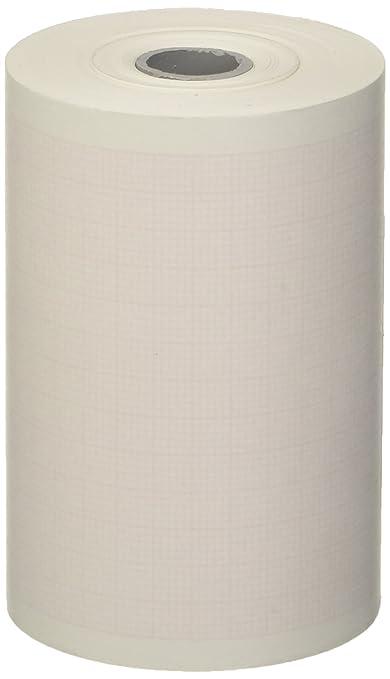Tecnocarta RI3707503012I Rotolo di Carta Termica per ECG Compatibile con  Defibrillatore HP Philips Heartstart MRX, 75 mm x 30 m, 5 Pezzi
