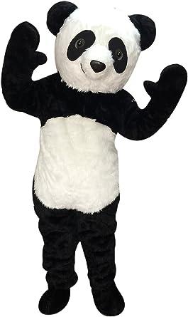 Amazon.com: rushopn Tamaño para adultos felpa Panda Mascot ...
