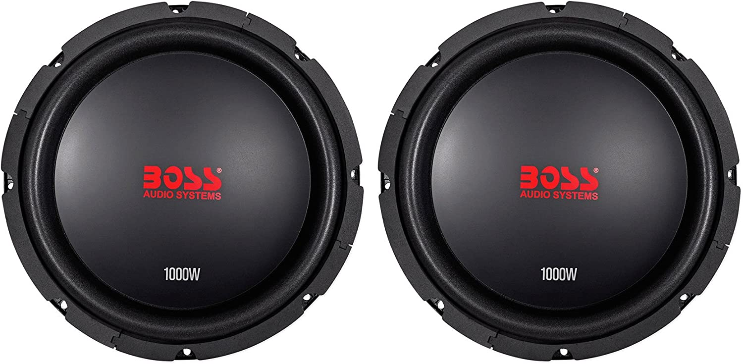 "(2) Boss Audio CXX104DVC 10"" 2000 Watt Car Stereo Subwoofers Dual-4 Ohm Subs 71SH37PGQCLSL1500_"