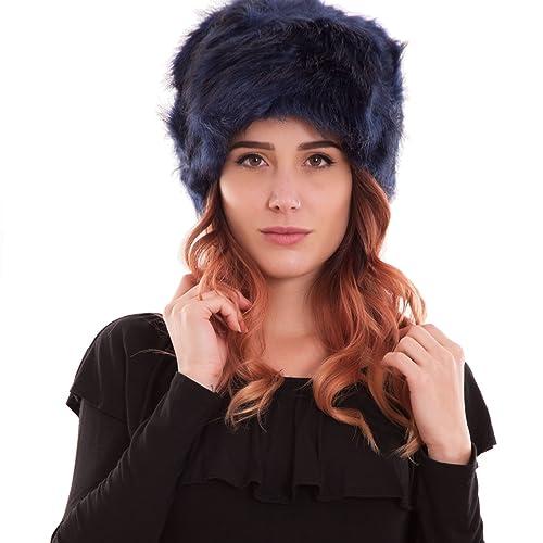 Toocool – Cappello cappellino donna berretto pelliccia eco colbacco casual nuovo SD-1