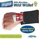 Clöudz RFID Protection Travel Wrist Wallet
