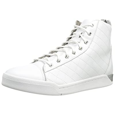 Diesel Diamond Men's High Top Sneakers White: Shoes