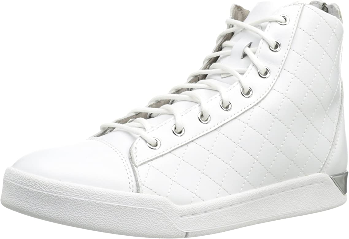 Men's High Sneakers Top White Diamond PkXiuOZ