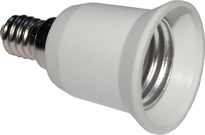 Blanc Douille dampoule E27 vers E27 en forme de Y Adaptateur convertisseur de lumi/ère