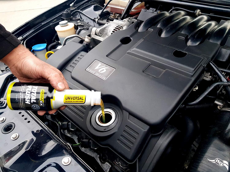 XADO Total Flush Sistema de aceite de lavado de motor limpiador limpiador de motor anillo de pistón limpiador de aceite - ATOMEX: Amazon.es: Coche y moto