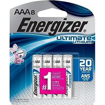 Amazon.com: Energizer Ultimate Lithium AAA Batteries