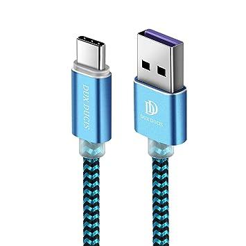 uk cheap sale where to buy outlet store sale DUX DUCIS Câble [1M] pour Huawei Mate 20 / Mate 20 Pro/Mate 20 Lite / P20  Lite / P20 / P20 Pro, Durable Nylon Tressé USB 2.0 Type C Chargeur Rapide  ...