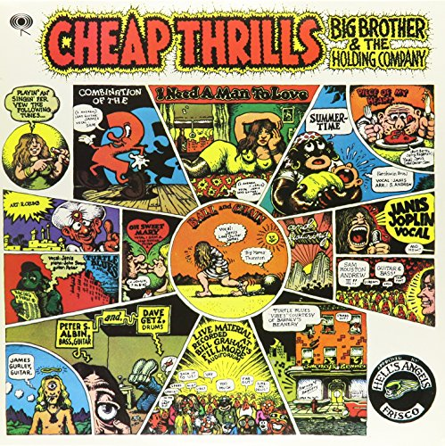 Cheap Thrills [Vinyl] Big Brother & the Holding Company; Janis Joplin (Cheap Records Vinyl)