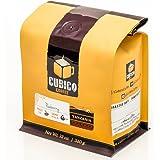 Tanzania Peaberry Coffee - Whole Bean Coffee - Freshly Roasted Coffee - Cubico Coffee - 12 Ounce (Single Origen Peaberry Tanzanian Coffee)