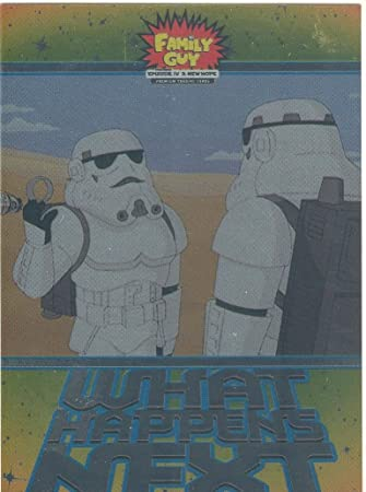 Family Guy Star Wars ANH What Happens Next Chase Card WN-4