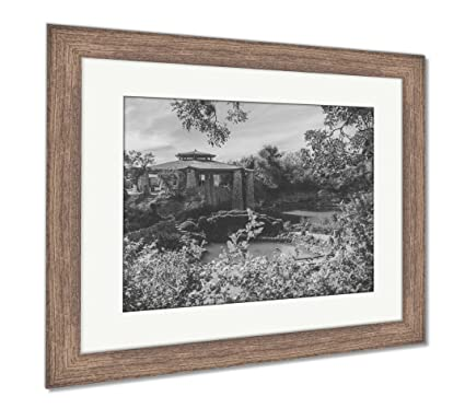 Amazon Ashley Framed Prints Japanese Tea Garden Pavillion Wall Gorgeous Japanese Tea Garden Design Gallery